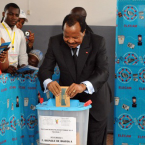 Biya Vote Cameroun:Camer.be