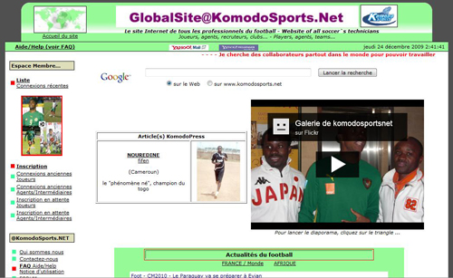 FOOTBALL::KOMODO SPORTS