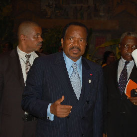 Paul Biya:Camer.be