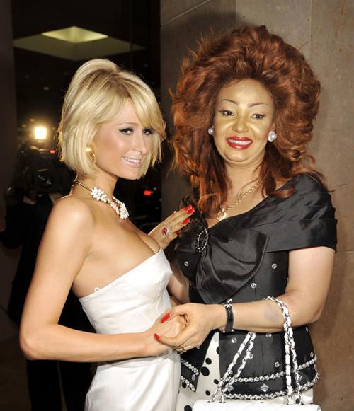 Chantal Biya & Paris Hilton : camer.be