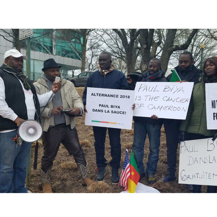 """�TATS-UNIS :: Speech from the president of CODE-USA against EXCESSIVE USED OF FORCE ON CITIZENS: """" LET'S THE BELL OF CHANGE RINGS """" in Cameroon now. :: UNITED STATES"""