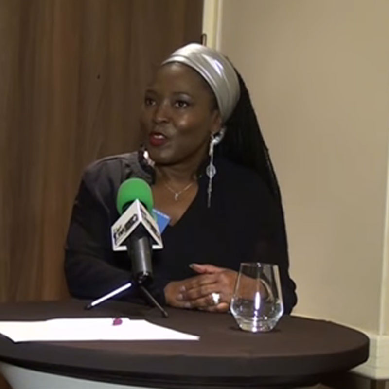 FRANCE :: GABON: RENTR?E POLITIQUE ? PARIS de la CDG,R?action de Ghislaine BRAHIM