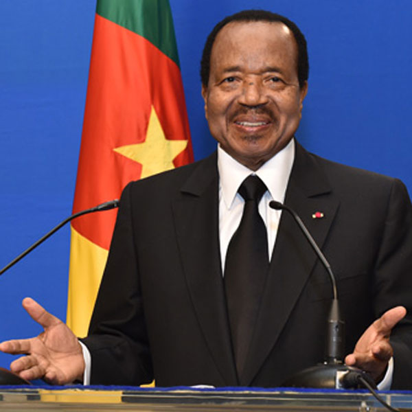 Paul Biya toujours populaire !