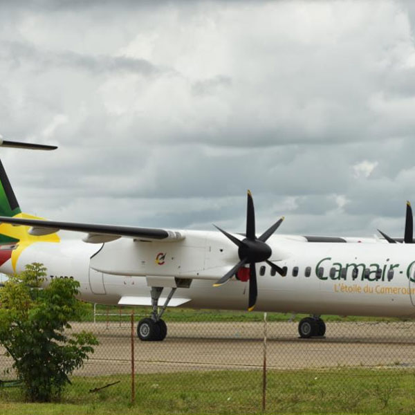 Cameroun: Le bombardier Q 400 de camair-co est là : We did it. :: CAMEROON