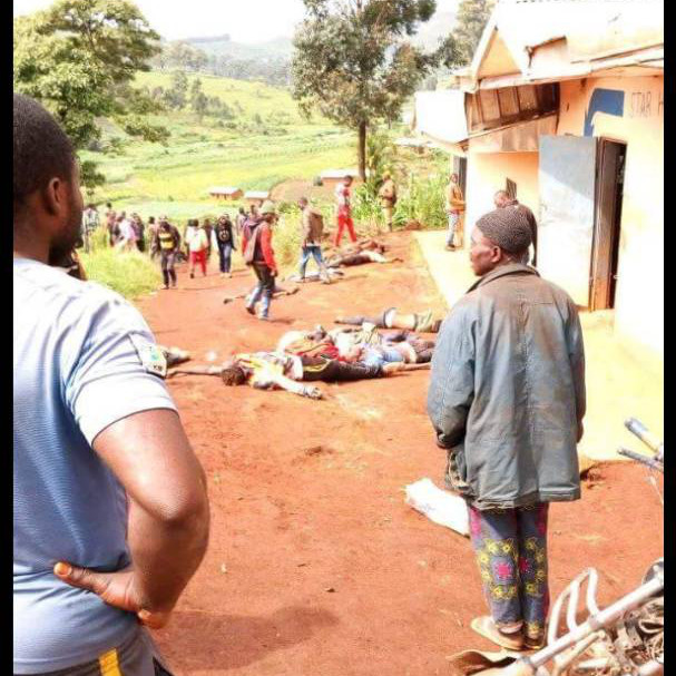 CAMEROUN :: CARNAGE DANS UN VILLAGE ANGLOPHONE :: CAMEROON